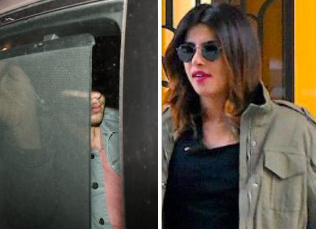 WOAH! Priyanka Chopra and Nick Jonas SECRETLY arrive together in India (view LEAKED pic)