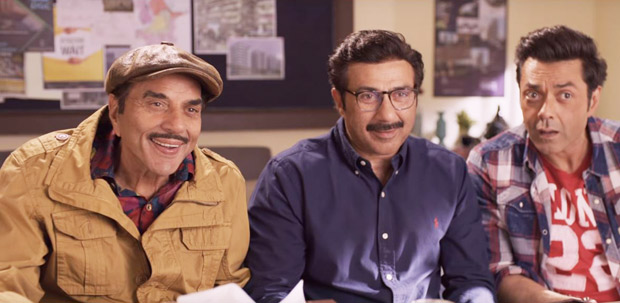 Yamla Pagla Deewana Phir Se Punjabi mundas Dharmendra, Sunny and Bobby Deol TURN Gujaratis and a glimpse of it can be seen in the teaser!