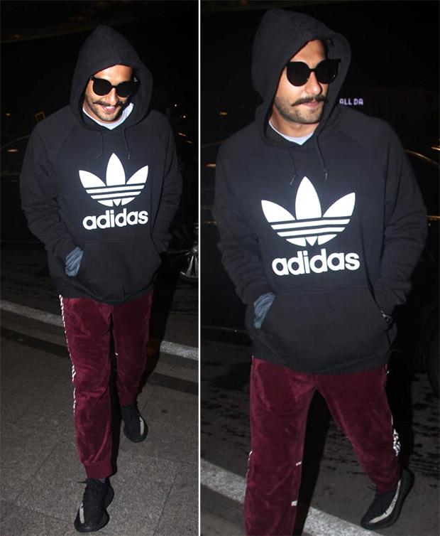 Airport Style - Ranveer Singh