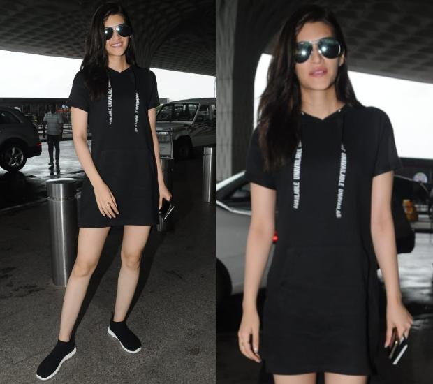 Airport Style - Kriti Sanon