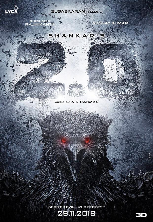 CONFIRMED! Rajinikanth-Akshay Kumar's 2.0 to finally release on November 29, 2018