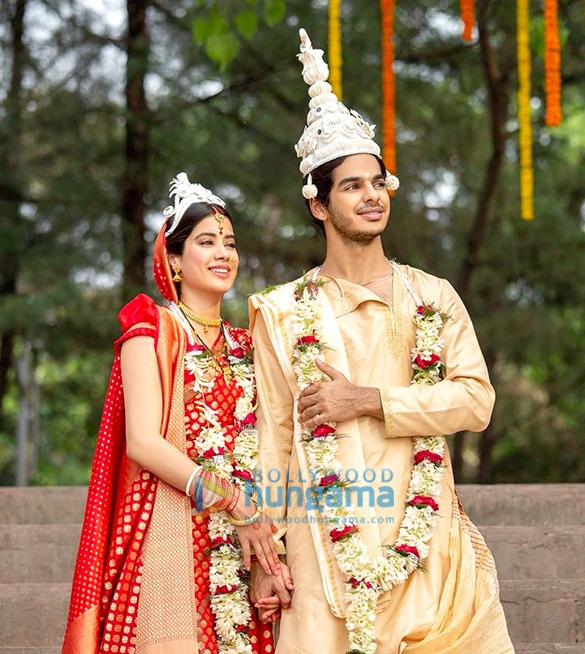 Dhadak: Janhvi Kapoor and Ishaan Khatter as a newly married couple is CUTENESS personified