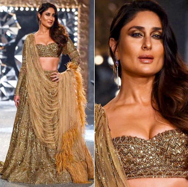 Kareena Kapoor Khan for Falguni and Shane Peacock at India Couture Week 2018