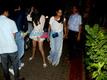 Sonal Chauhan and Abhimanyu Dassani snapped together in Bandra