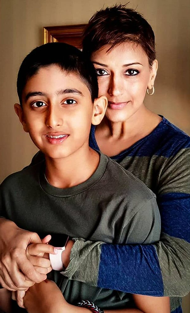 Sonali Bendre pens heartwarming post about how she and her husband broke the news of her cancer to her son Ranveer