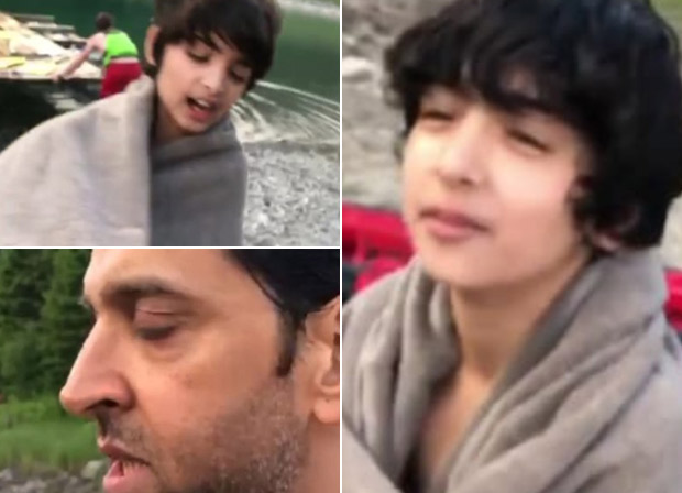 Super 30 Effect Hrithik Roshan's sons Hridhaan and Hrehaan catch up on the Bihari dialect!