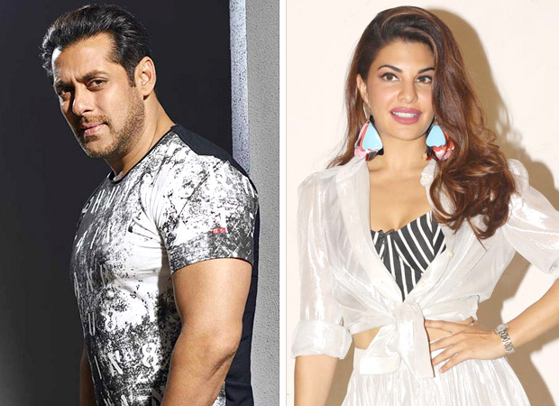 What were Salman Khan and Jacqueline Fernandez doing together in Dubai