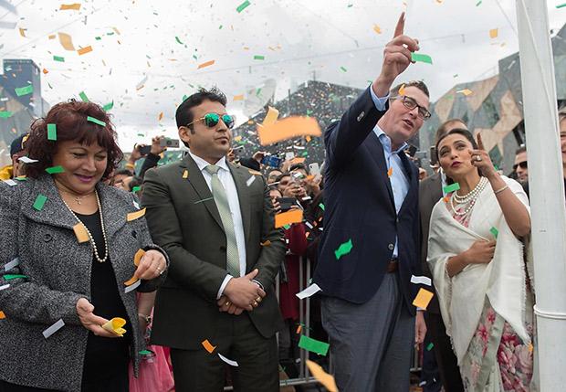 After meeting Rani Mukerji, Minister Daniel Andrews starts a 5 Million Dollar grant for Bollywood