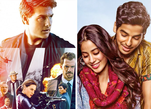 Box Office Mission Impossible - Fallout collects Rs.3 crore, Dhadak brings in Rs.50 lakhs on Friday