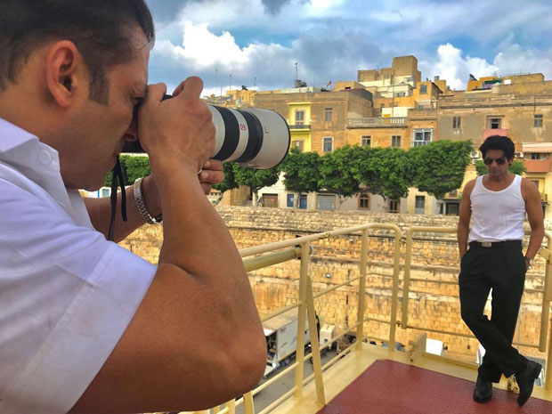 Check Out: Salman Khan has found a new muse while shooting for Bharat in Malta
