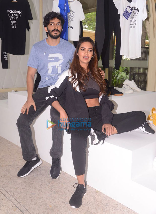 Esha Gupta and Harshvardhan Kapoor play muse to Reebok India's Fall Winter 18 collection masterclass by celebrity stylist Tanya Ghavri