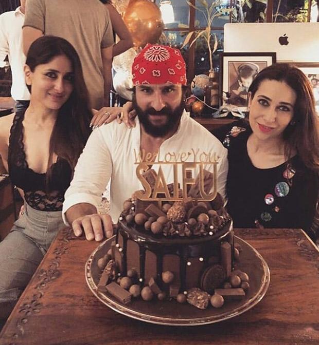 INSIDE PICS: Saif Ali Khan has a midnight birthday bash with wife Kareena Kapoor Khan, kids Sara Ali Khan and Ibrahim Ali Khan and others
