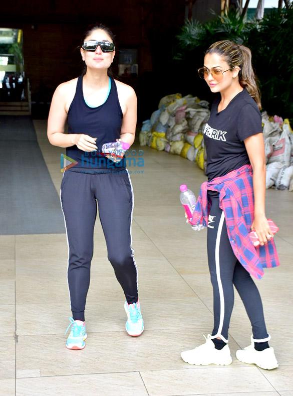 Kareena Kapoor Khan and Amrita Arora snapped at Otters Club in Bandra