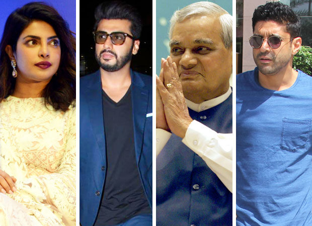 Priyanka Chopra, Arjun Kapoor, Farhan Akhtar and others offer condolences after the demise of former Prime Minister Atal Bihari Vajpayee