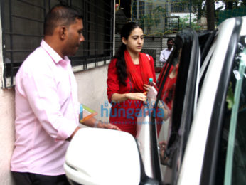 Sara Ali Khan snapped outside her dance class