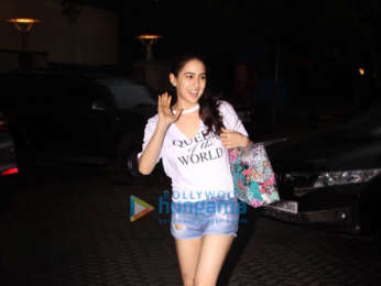 Sara Ali Khan spotted after yoga class