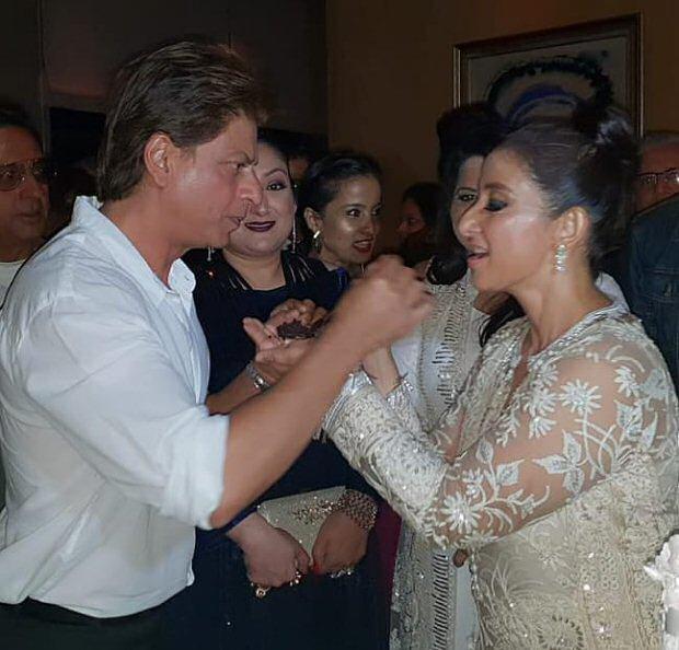 Shah Rukh Khan, Rekha, Vidhu Vinod Chopra, Sanjay Leela Bhansali shower Manisha Koirala with love on her birthday