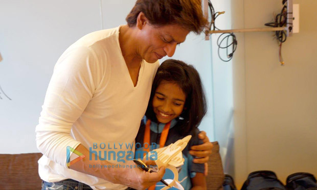 Shah Rukh Khan meets childhood cancer survivors who will represent India at the World Children's Winners games 2018 in Moscow