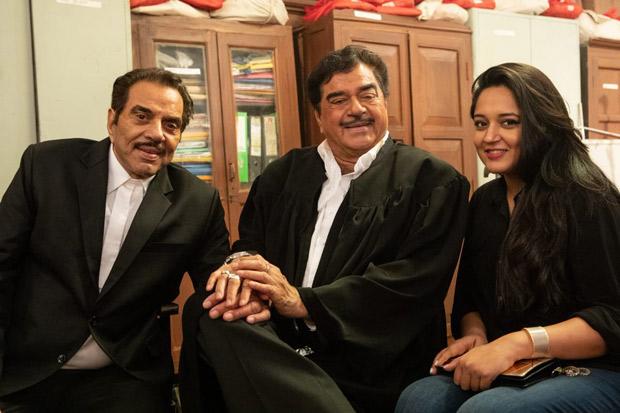 Shatrughan Sinha shoots with Dharmendra, Sunny Deol and Bobby Deol for Yamla Pagla Deewana Phir Se