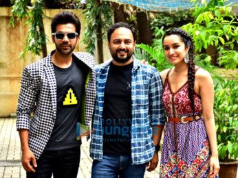 Shraddha Kapoor and Rajkummar Rao spotted at Maddock Films office