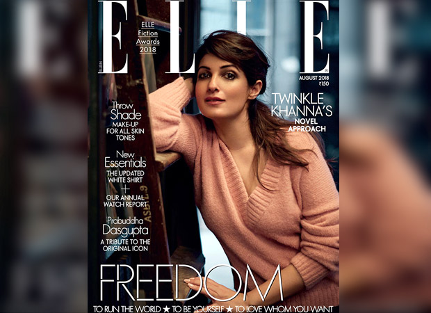 Twinkle Khanna for Elle (featured)