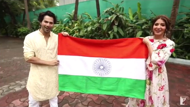 Varun Dhawan and Anushka Sharma will make you EMOTIONAL as they wish Independence Day in Sui Dhaaga style