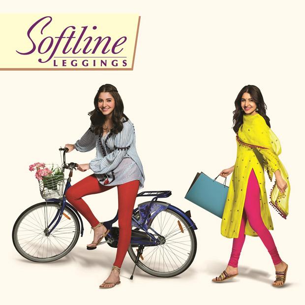 Anushka Sharma signed as the new face of Softline Leggings