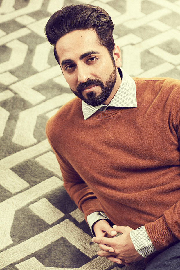 Ayushmann Khuranna stuns family by staying blindfolded at his home for Andha Dhun!
