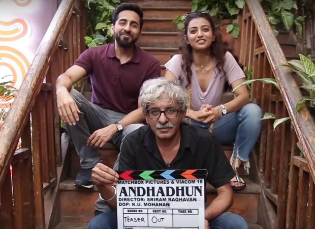 Ayushmann Khurrana – Radhika Apte's Andhadhun to do a whacky social experiment to promote the trailer