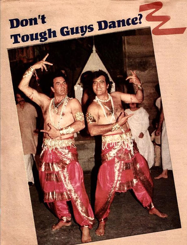 BLAST FROM THE PAST! Dharmendra and Vinod Khanna's quirky dance photo is too hilarious to miss