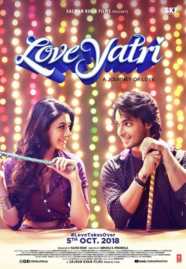 BREAKING Salman Khan changes Aayush Sharma - Warina Hussain's film name to Love Yatri
