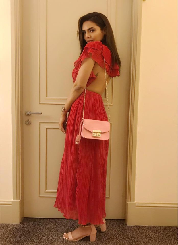 Esha Gupta in Nasty Gal for an event (5)