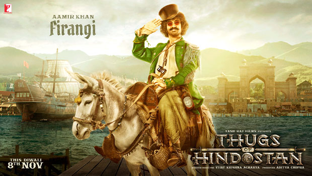 Aamir Khan as quirky FIRANGI in Thugs Of Hindostan is totally unmissable