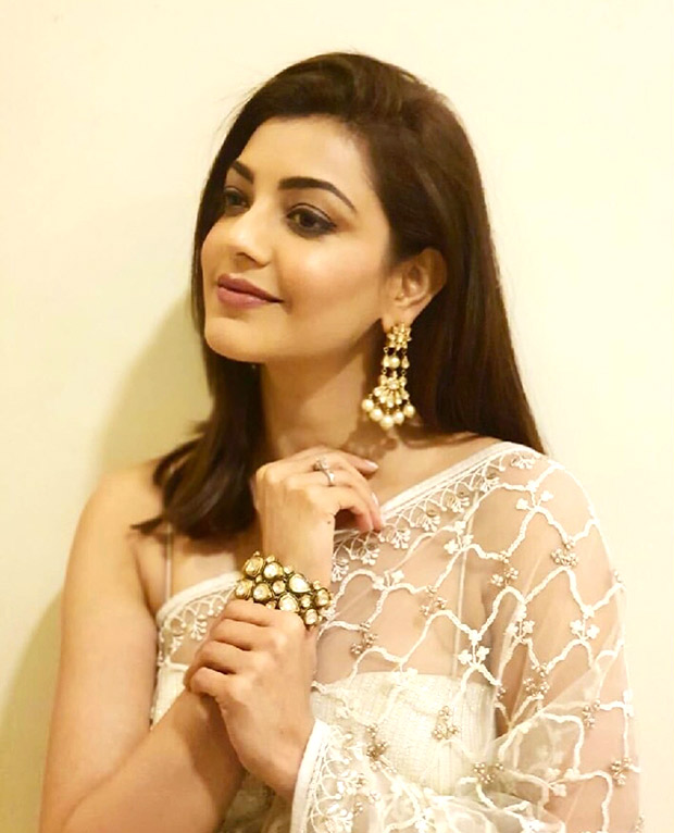 Kajal Aggarwal in Anita Dongre for an event (2)