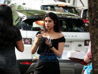 Khushi Kapoor and Hansika Motwani snapped in Juhu