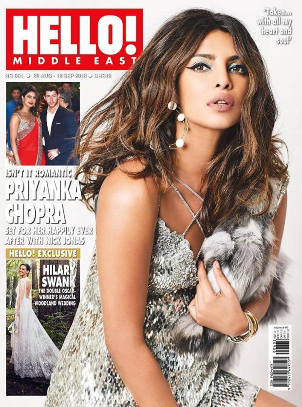 Priyanka Chopra is HAUT, HOT and everything in between on her engagement special cover of Hello! Middle East (check it out)