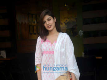 Rhea Chakraborty snapped in Bandra