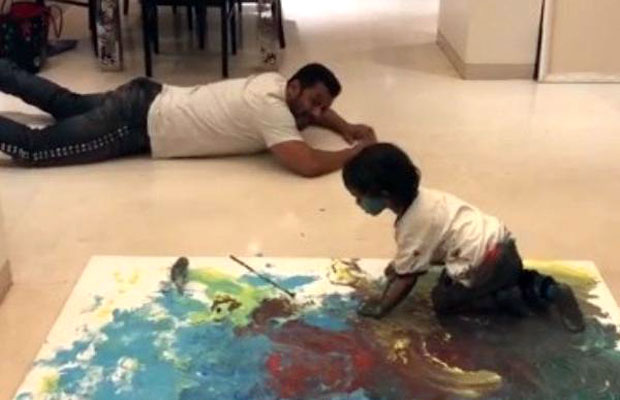 Salman Khan's nephew Ahil is as TALENTED as his mamu jaan, this video is a proof