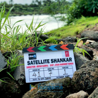 On The Sets Of The Movie Satellite Shankar