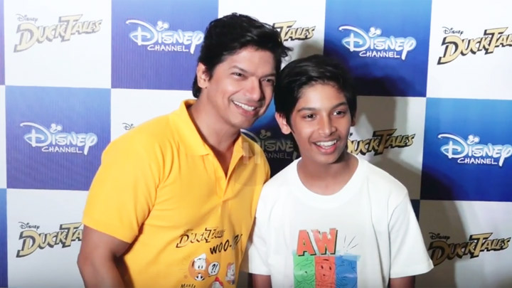 Shaan & his son sing Hindi version of iconic Ducktales title track