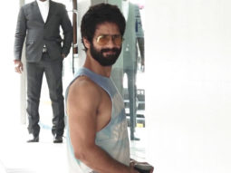 Shahid Kapoor spotted at the hospital