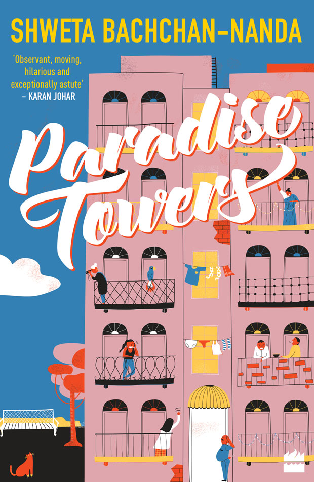 Shweta Bachchan Nanda's debut novel Paradise Towers to launch on October 10, 2018