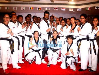 Sonu Sood & IPS Yashasvi Singh Yadav IG Police awarded with the Doctorate Degree of Taekwondo