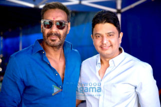 On The Sets Of The Movie Taanaji – The Unsung Warrior
