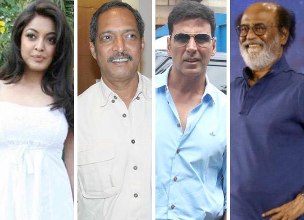 Tanushree Dutta calls Nana Patekar 'Chindi Chor', calls out Akshay Kumar and Rajinikanth for working him even after knowing his aggressive behaviour