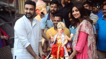 Shilpa Shetty & Family Welcomes Ganpati Bappa