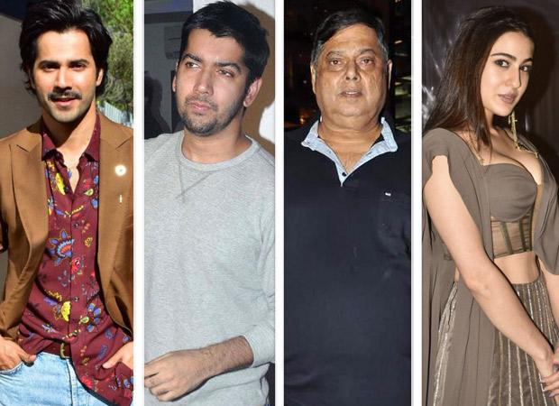 Varun Dhawan and Rohit Dhawan join hands for father David Dhawan's directorial featuring Sara Ali Khan