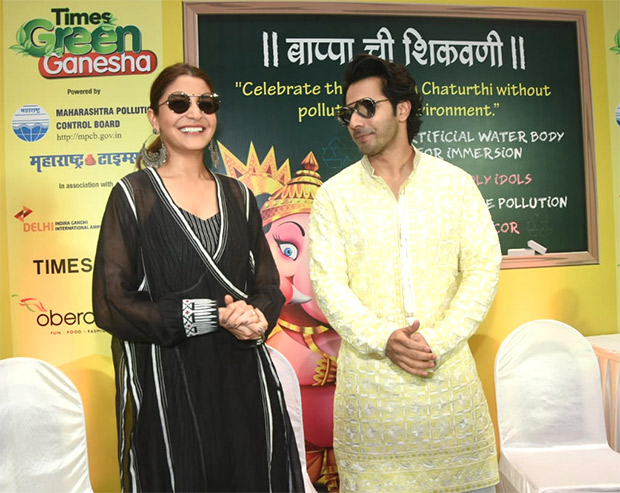 Varun Dhawan in Manish Malhotra for Sui Dhaaga - Made in India promotions (1)