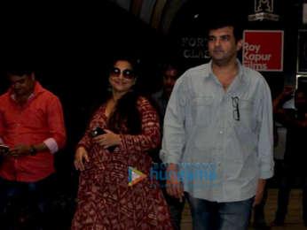 Vidya Balan and Siddharth Roy Kapur spotted in Bandra