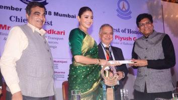 WOW Anushka Sharma feliciated at 34th anniversary of Priyadarshini Academy Global Awards